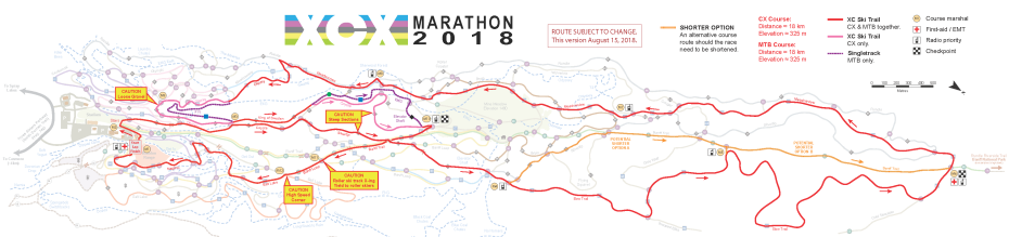 XCX 2018 Course Map